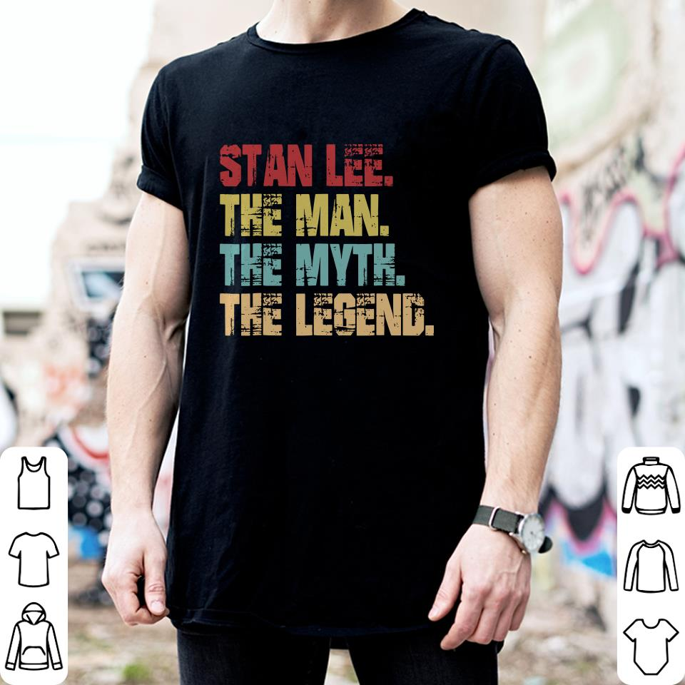 Stan Lee The Man The Myth The Legend shirt 2