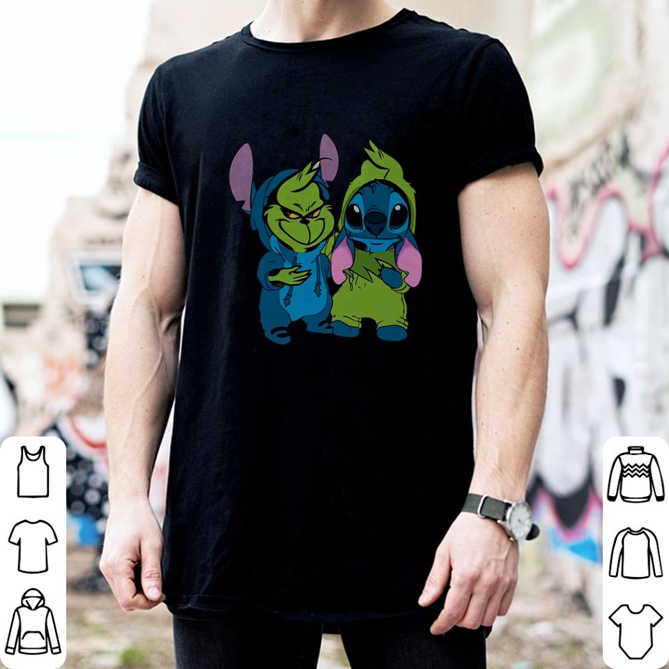Stitch and Grinch shirt