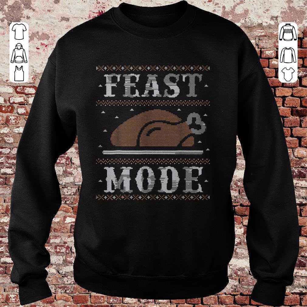 Thanksgiving Feast Mode sweater shirt