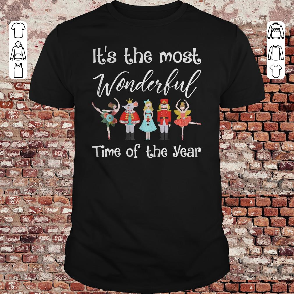 The Nutcracker Ballet Dance It's the most wonderful time of the year shirt 1