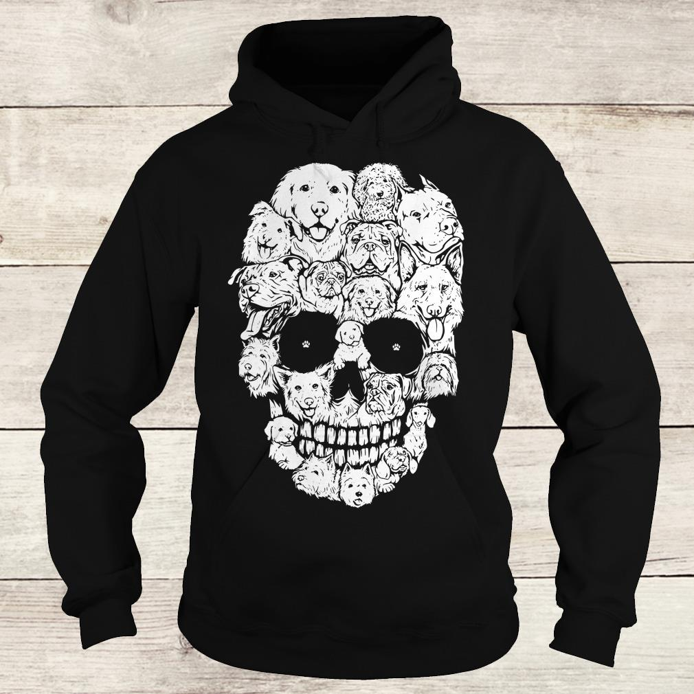 The best Boy Dogs stacked into skull shirt Hoodie