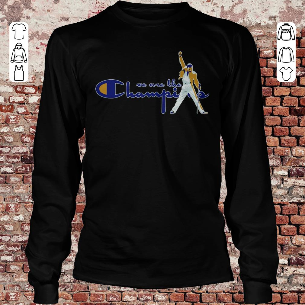We are the Champions Freddie Mercury shirt Longsleeve Tee Unisex
