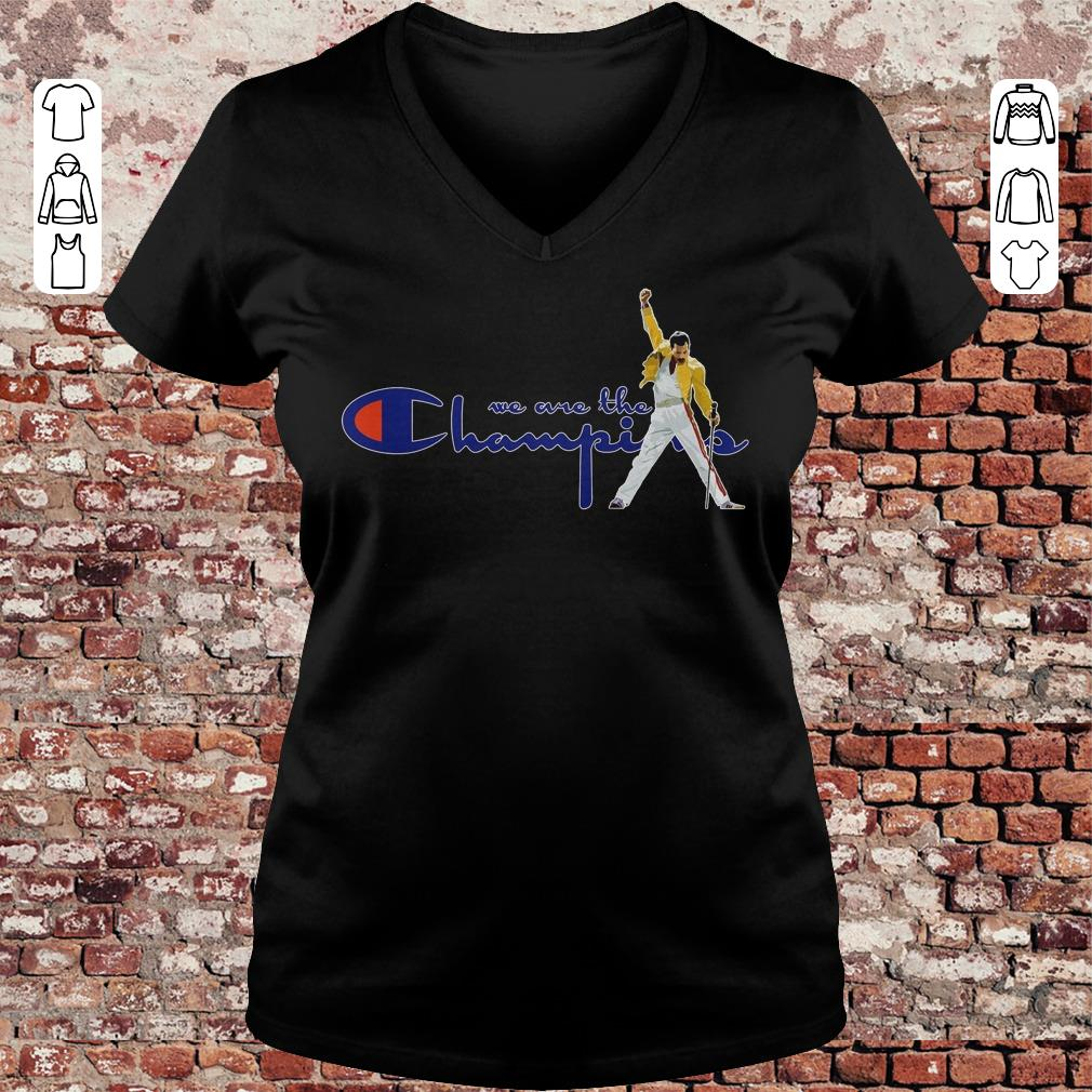 We are the champions shirt Ladies V-Neck