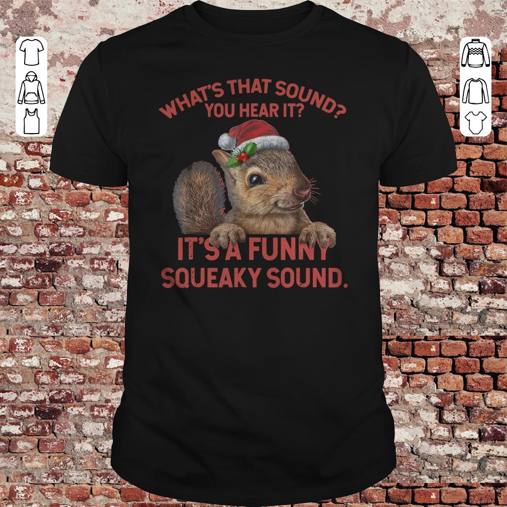 What's that sound you hear it It's a funny squeaky sound shirt 1