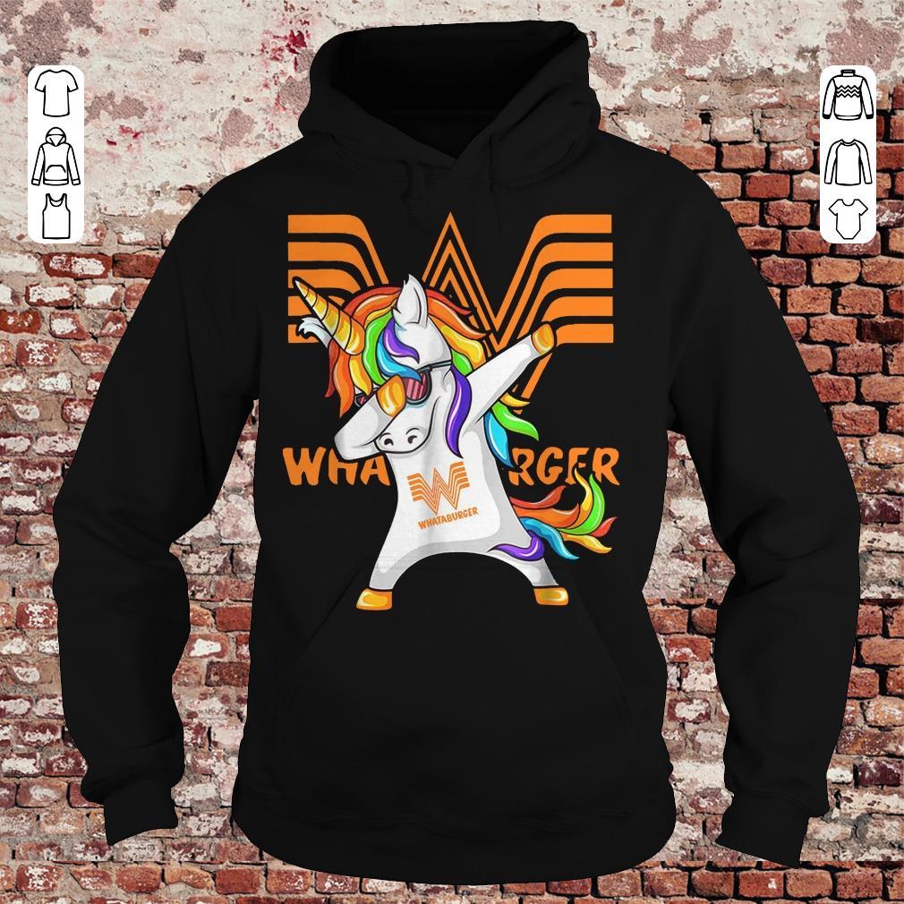 Whataburger Unicorn Dabbing shirt Hoodie