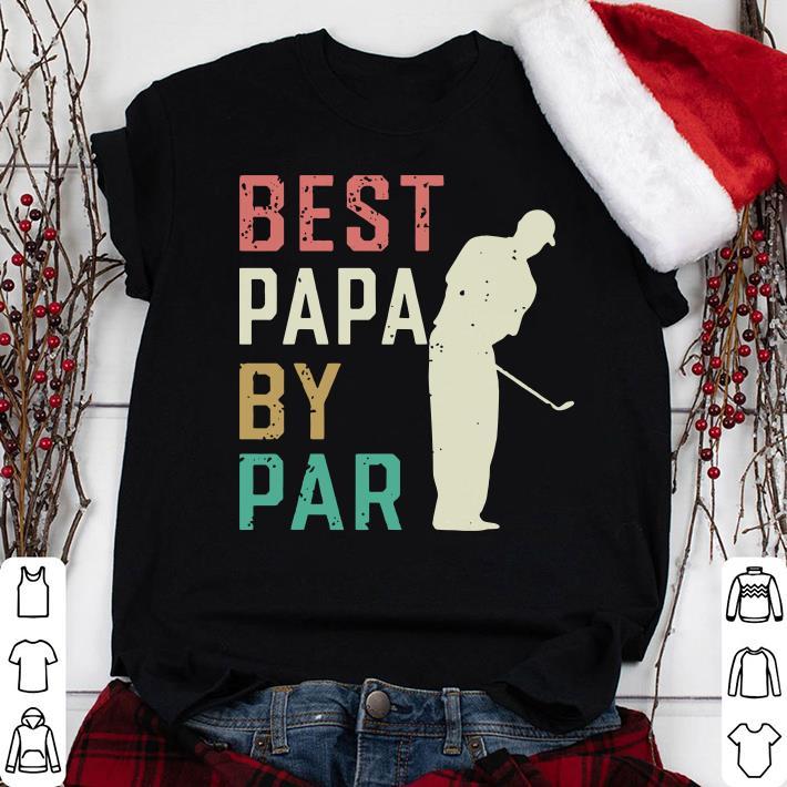 Best Papa By Par Golf Papa shirt