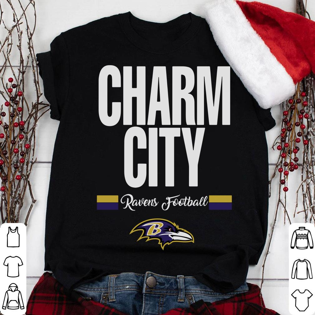 Charm City Baltimore Ravens Football shirt