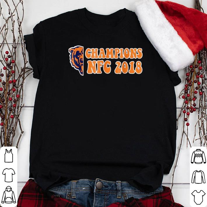 Chicago Bears Champions NFC 2018 shirt