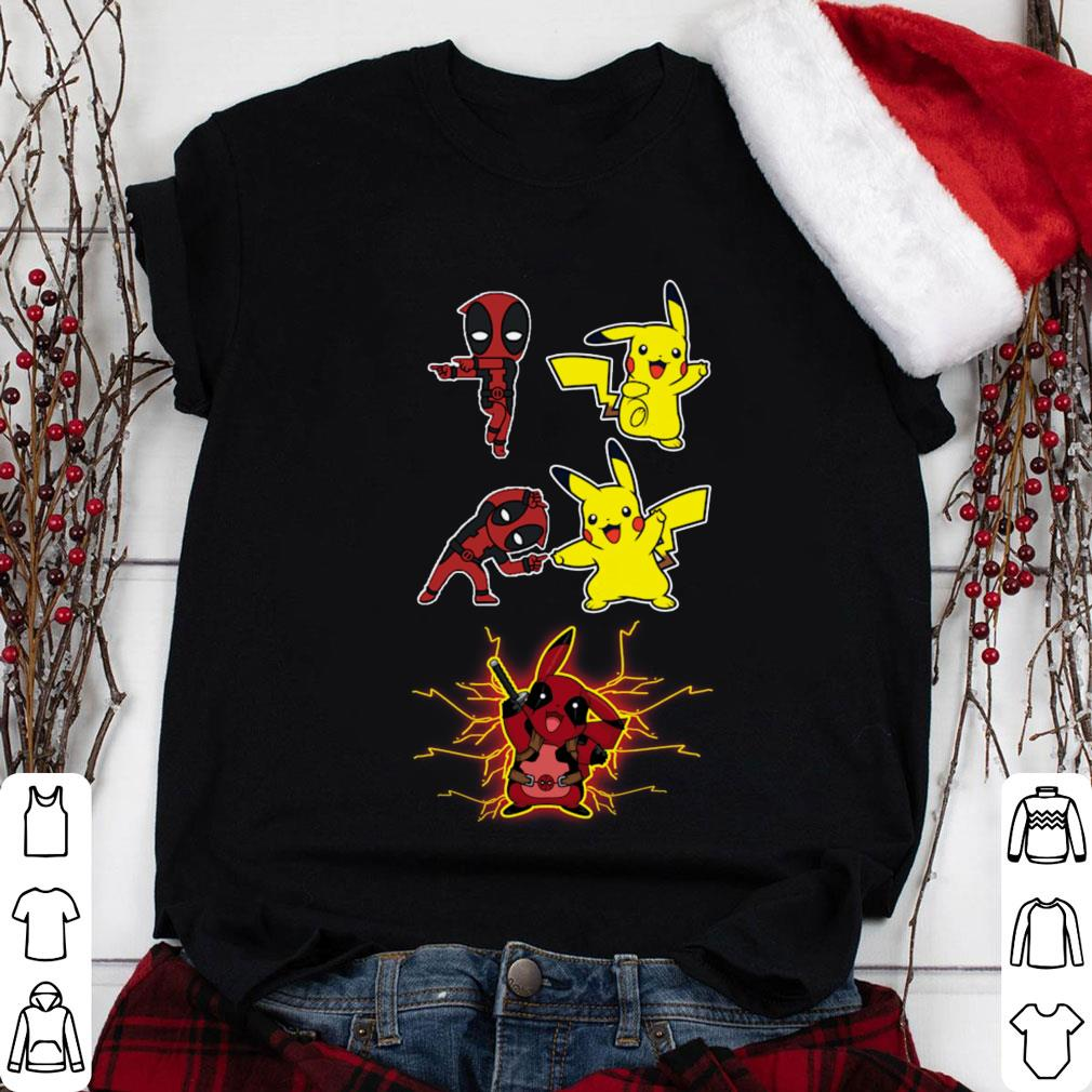 791bbc49 Deadpool fusion Pikachu become Pikapool shirt, sweater, hoodie ...