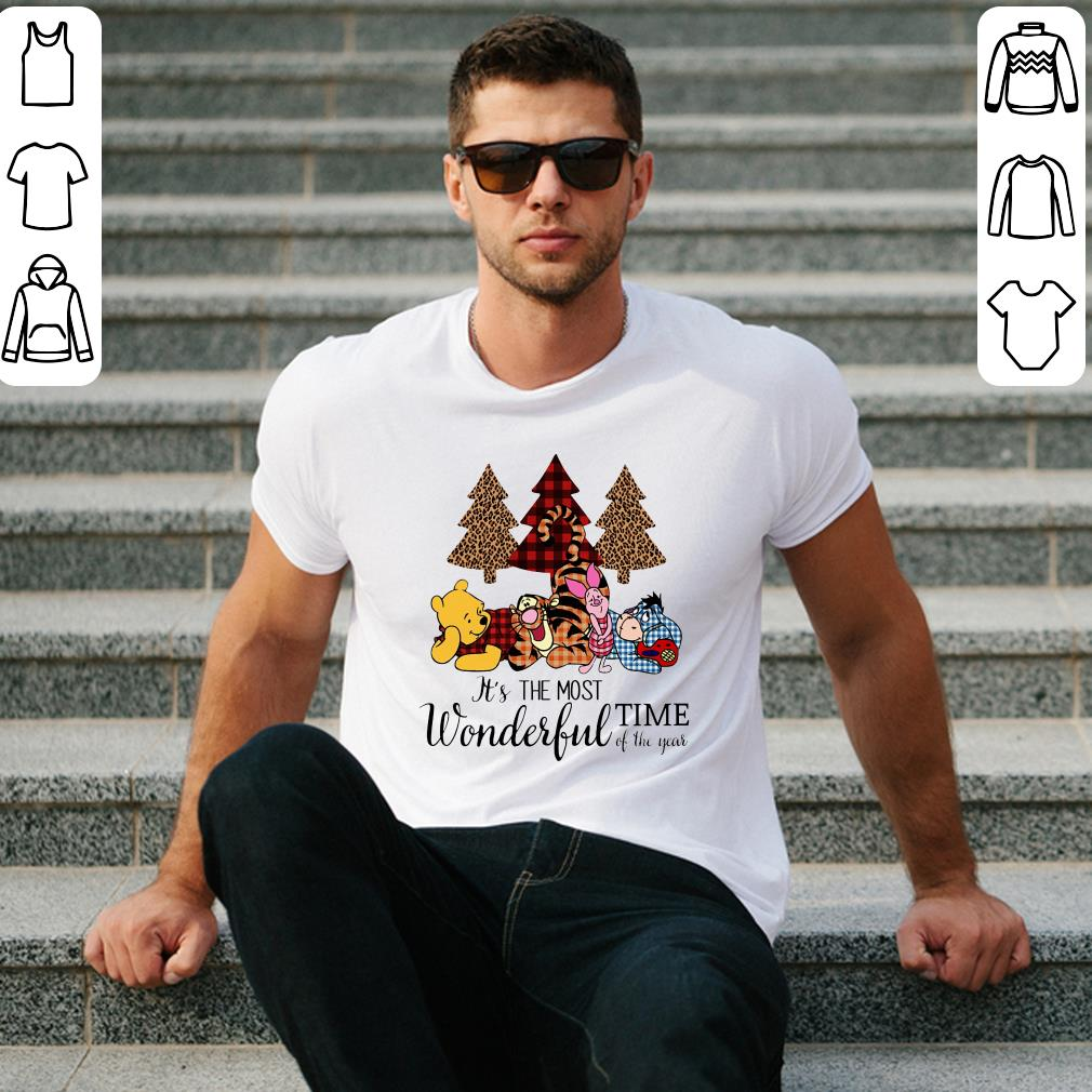 Disney's Pooh and Friends It's the most wonderful time of the year shirt