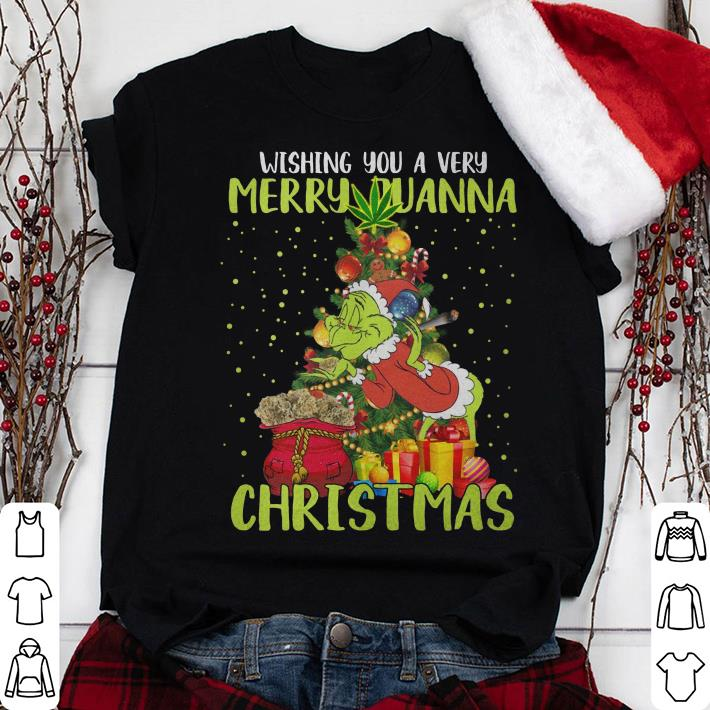 Grinch Wishing You Merry Quana Christmas shirt
