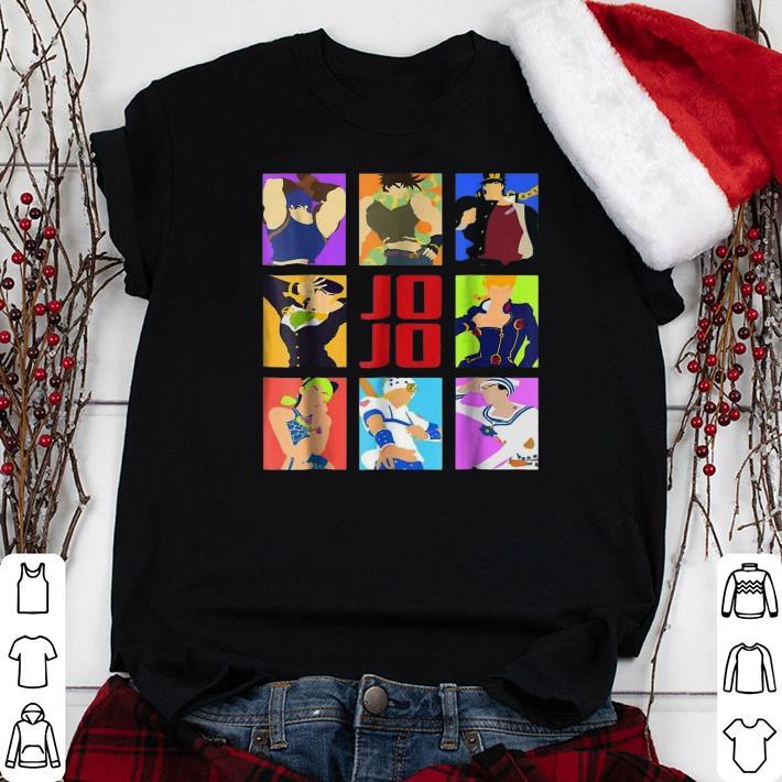 Jojo Christmas Sweater.Jojo S Bizarre Adventure Heroes Shirt