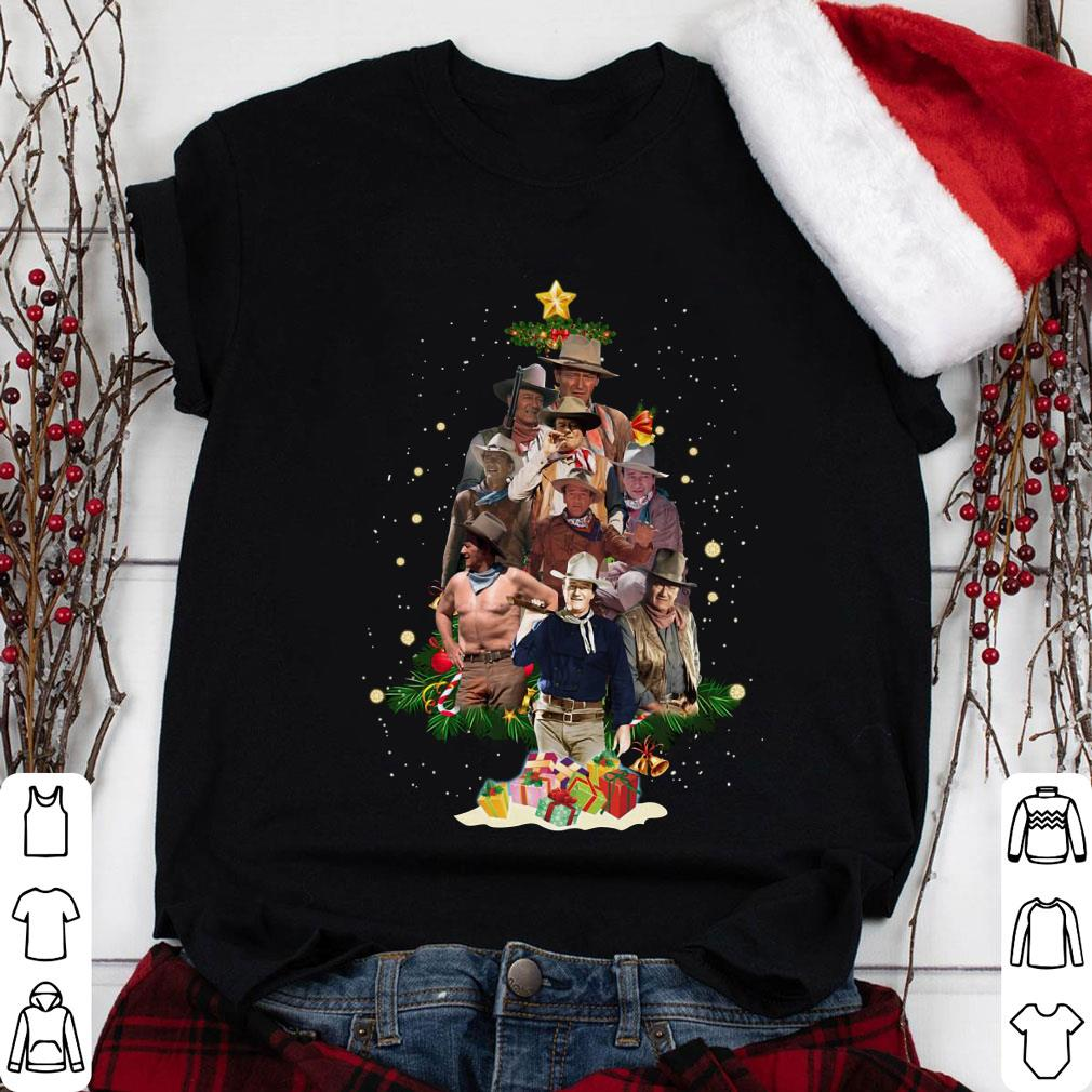 John Wayne christmas tree shirt