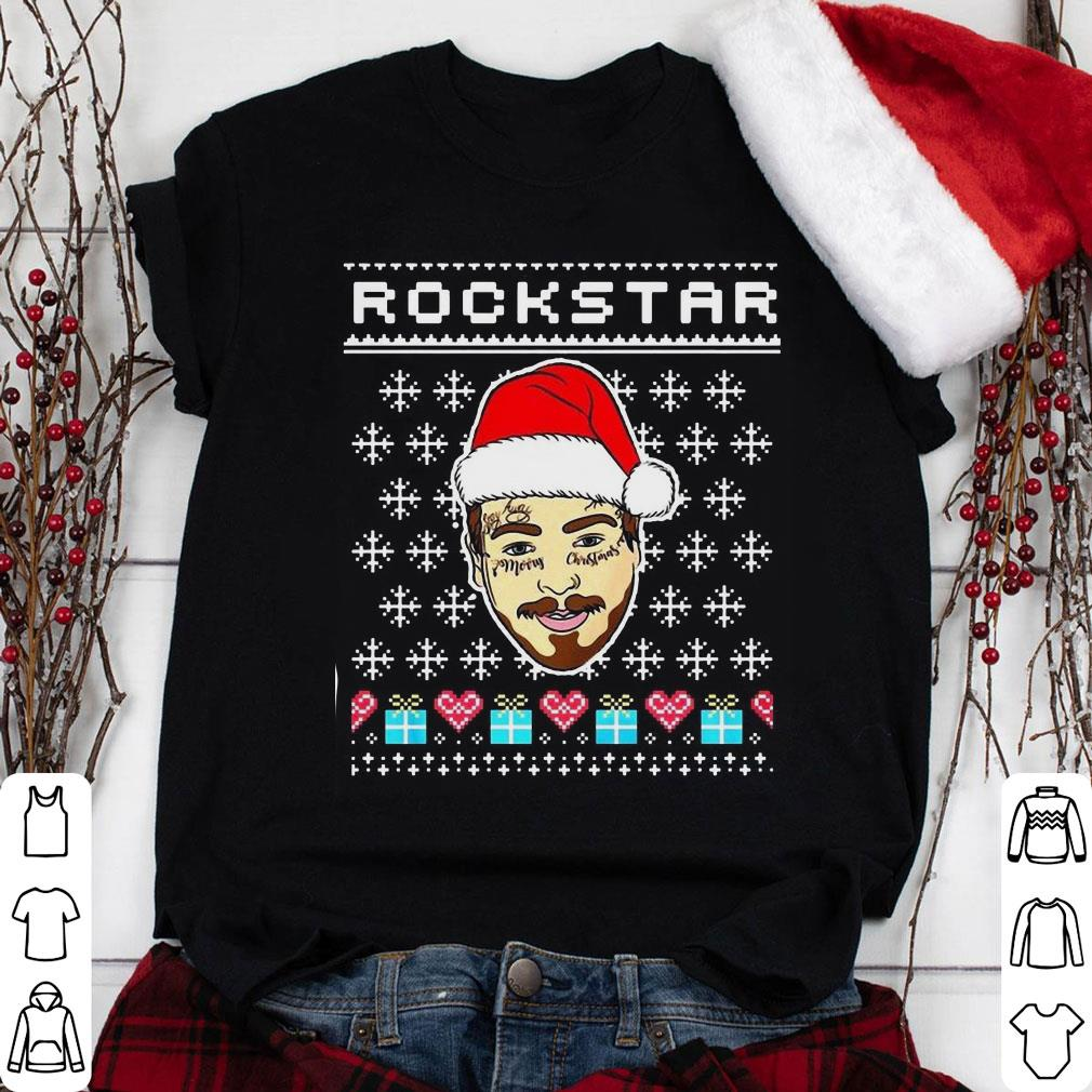 Merry Christmas Rockstar Post Malone shirt