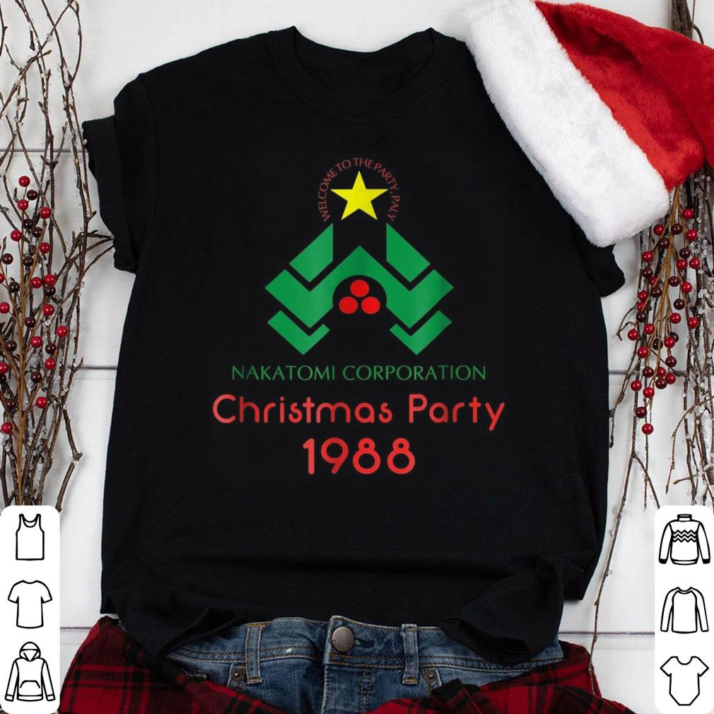 Nakatomi Corporation Christmas Party 1988 shirt