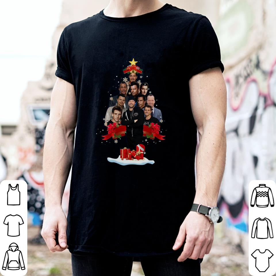 New Kids on the Block Christmas Tree shirt