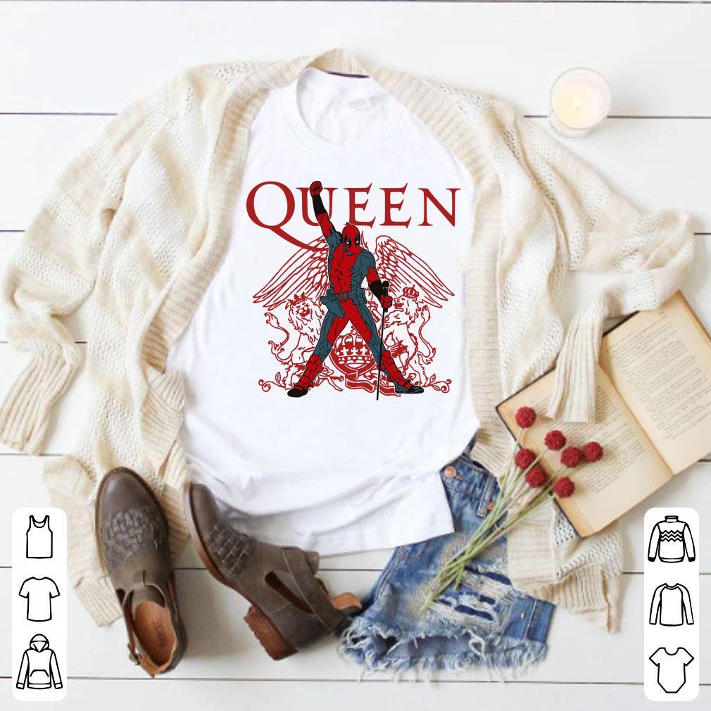 Queen Deadpool shirt