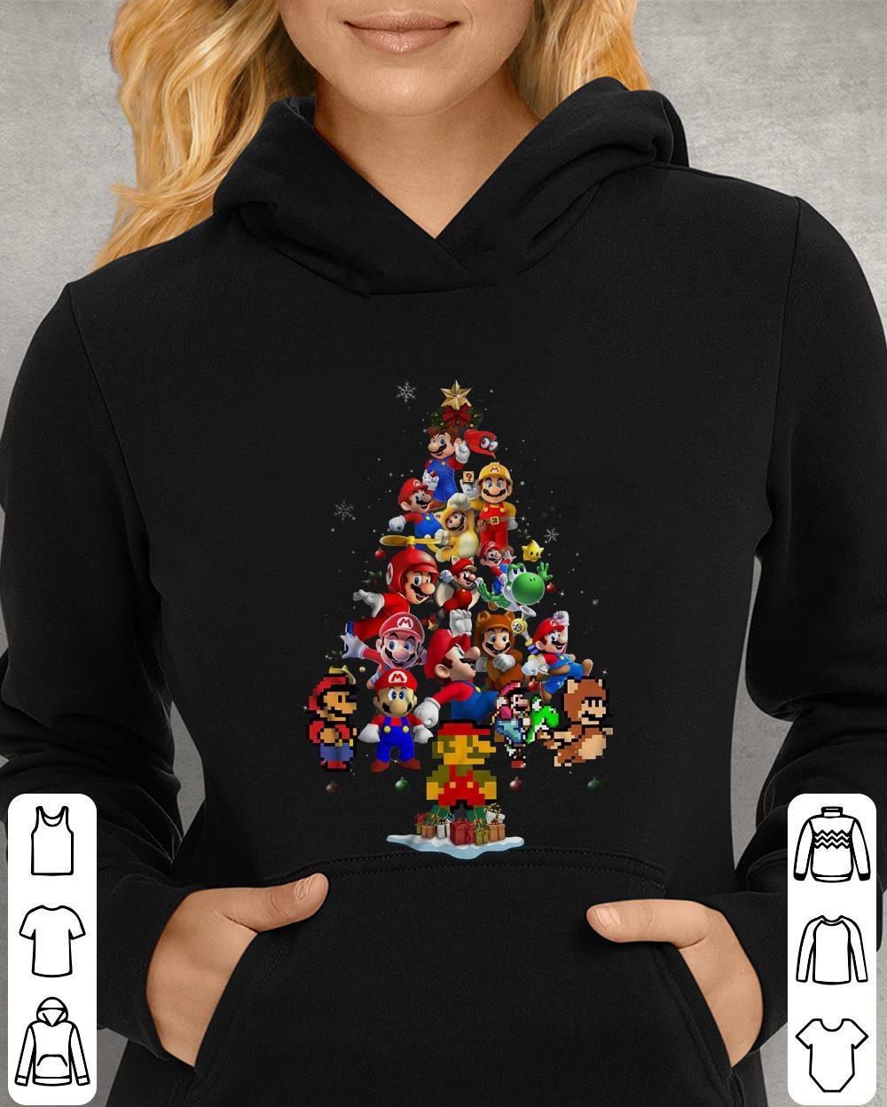 https://unicornshirts.net/images/2018/12/Super-Mario-Christmas-Tree-shirt_4.jpg