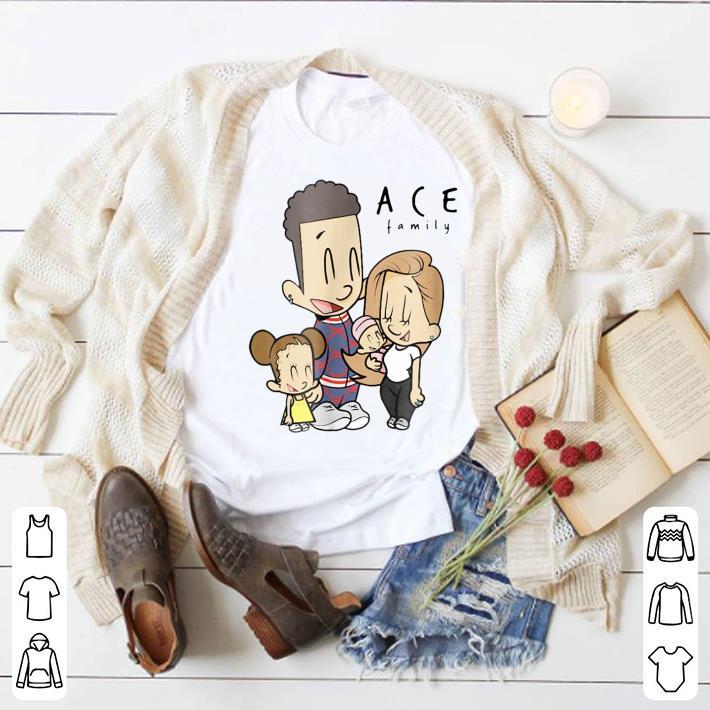 The Ace Family Cartoon Drawing shirt 1