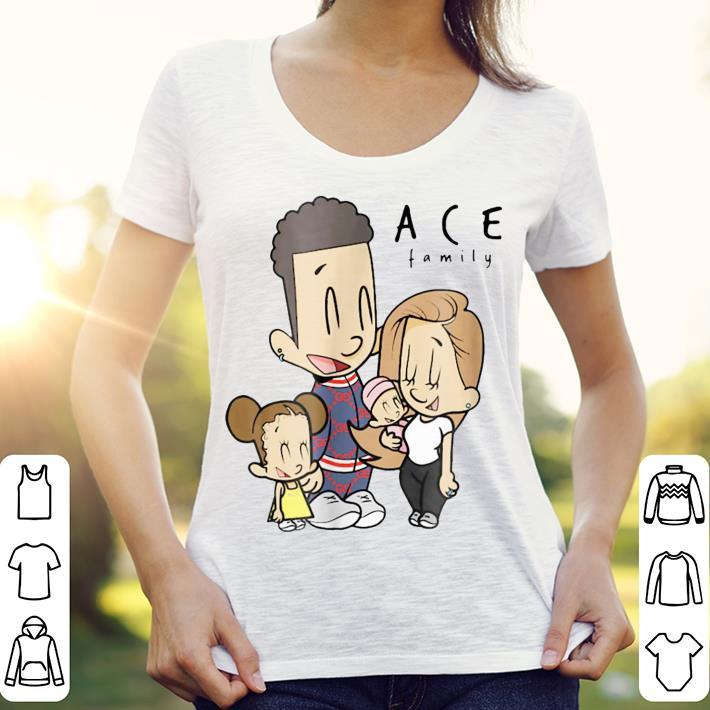 The Ace Family Cartoon Drawing shirt 3