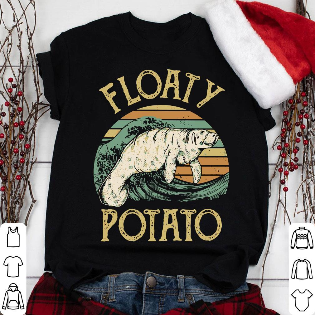 The Sunset Floaty Potato shirt