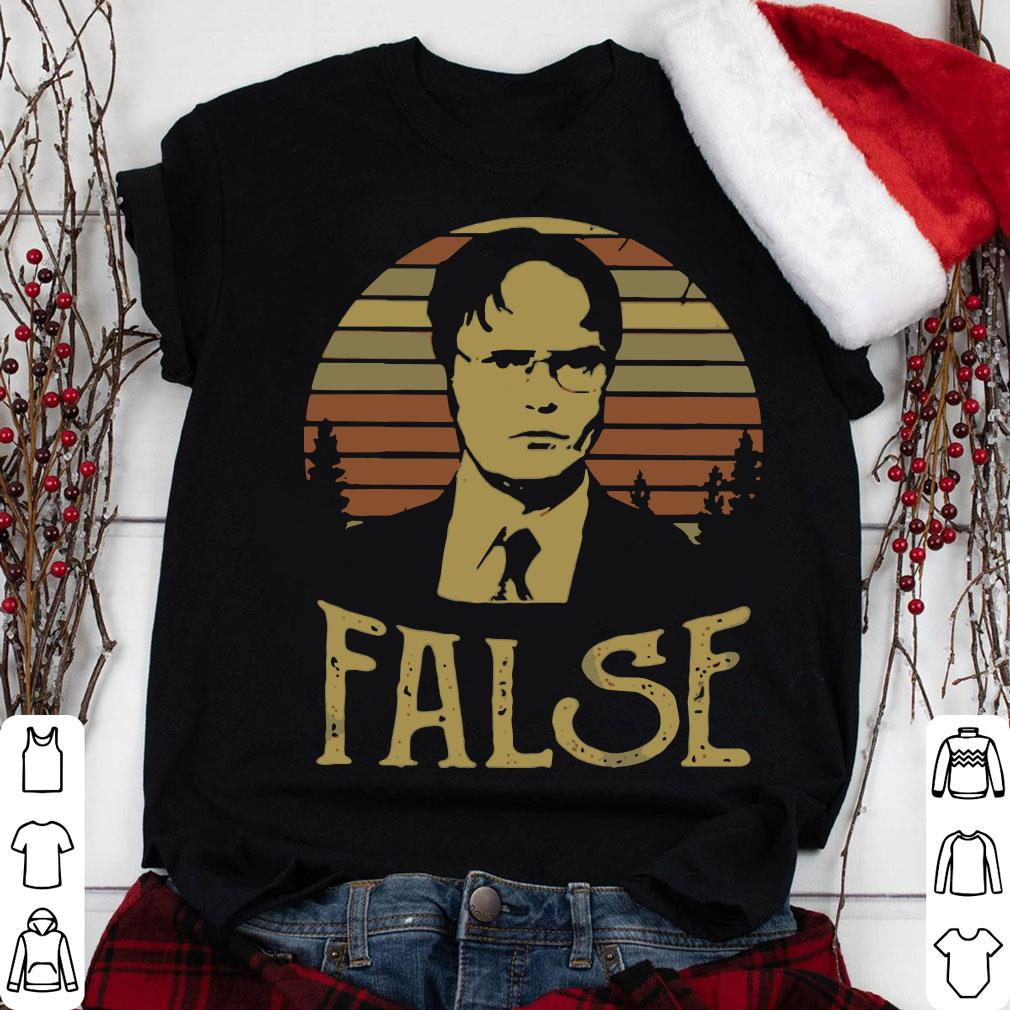 8fcdffac59cea6 The Sunset Retro Dwight Schrute False shirt