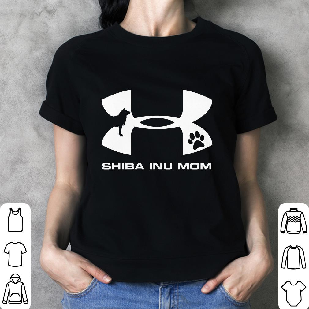 Under Armour Shiba Inu Mom Shirt 3