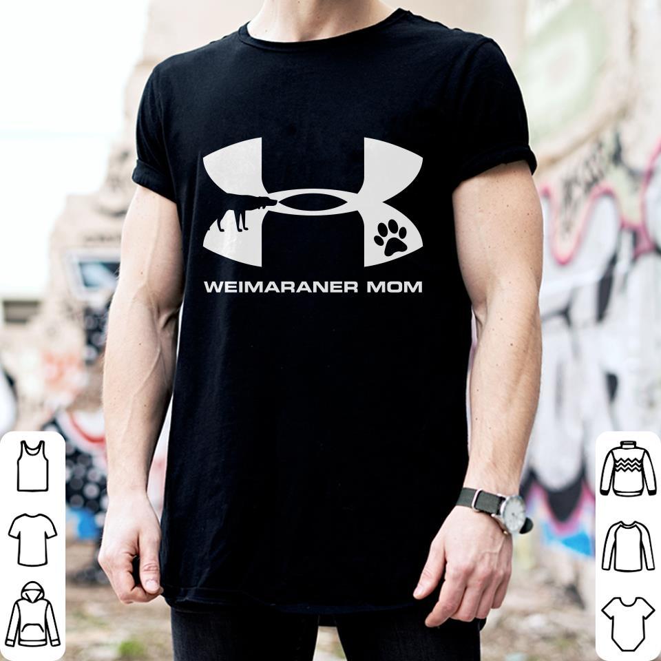 Under Armour Weimaraner Mom Shirt 2
