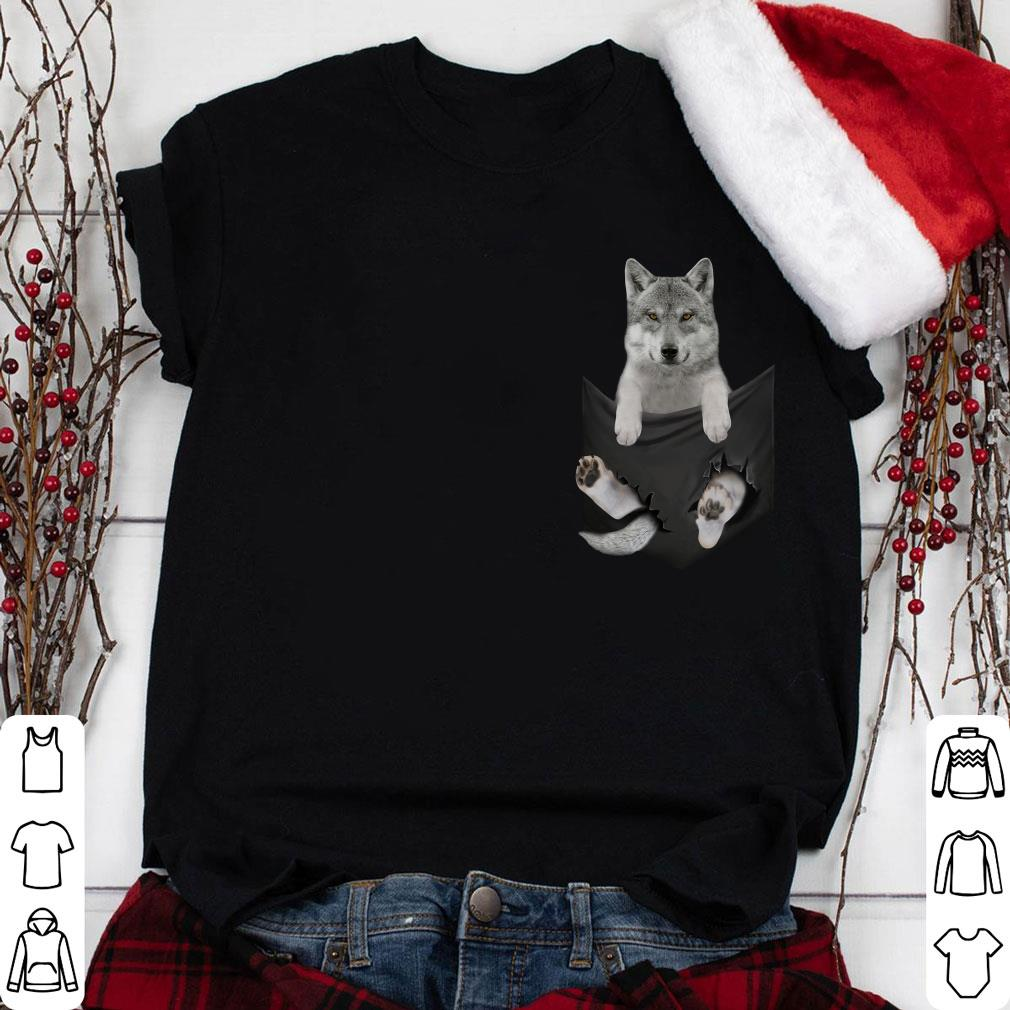 Wolf inside Pocket shirt