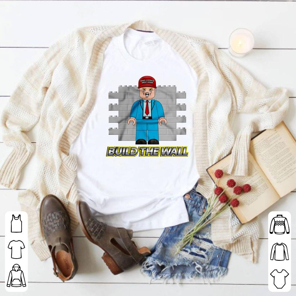 American Trump Build the Wall shirt 1