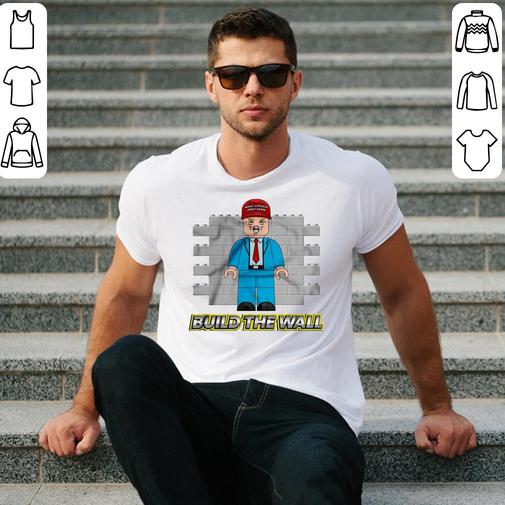 American Trump Build the Wall shirt 2