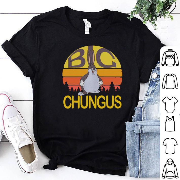 Big Chungus Sunset retro shirt