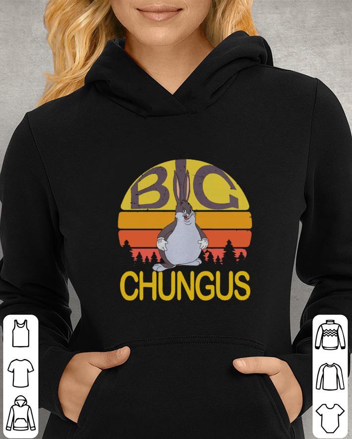 Big Chungus Sunset Retro Shirt Hoodie Sweater Longsleeve T Shirt