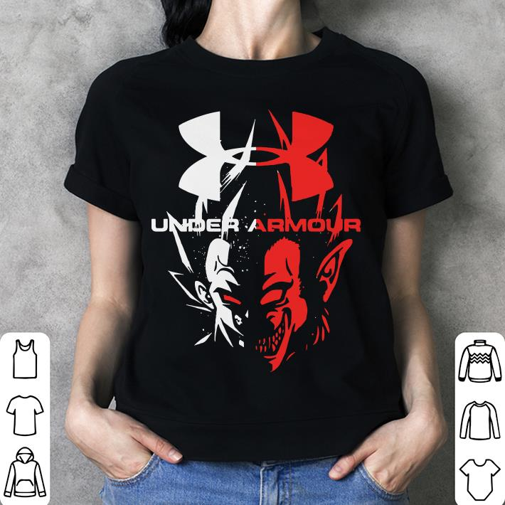 Dragon Ball Vegeta Oozaru Under Armour shirt