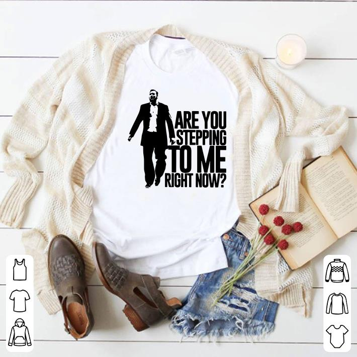 Clickbuypro Unisex T-shirt Samford Scott Padgett Are You Stepping To Me Right Now Shirt Hoodie White Xl