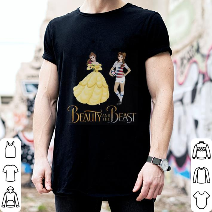 Soccer Beauty and the beast shirt