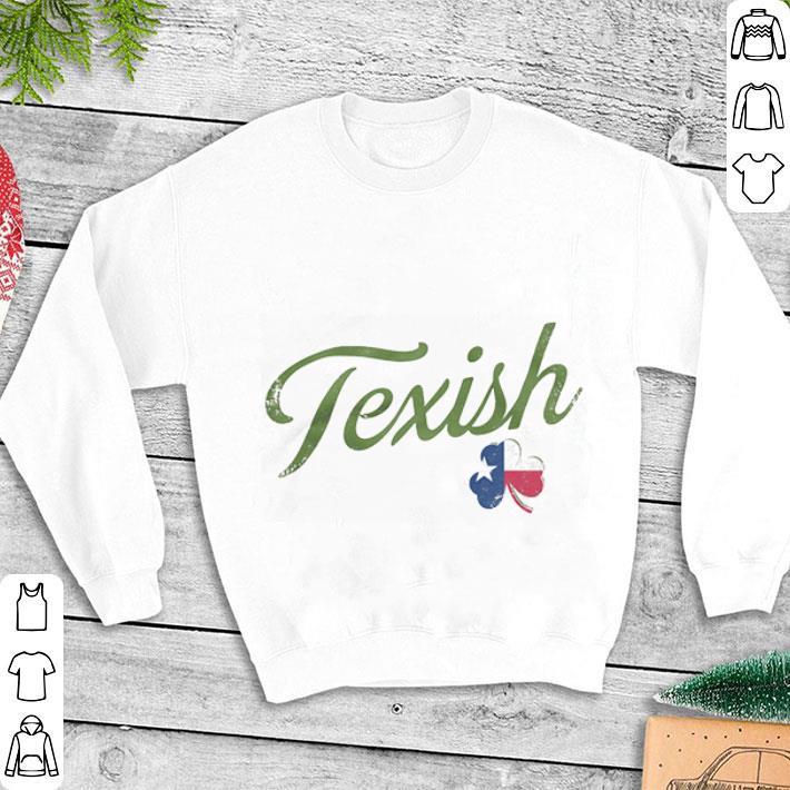 Clickbuypro Unisex Tshirt Texish Clover St Patricks Day Shirt T-shirt Navy L