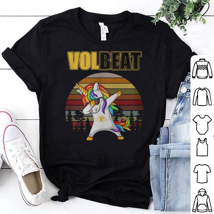 Unicorn dabbing Volbeat vintage