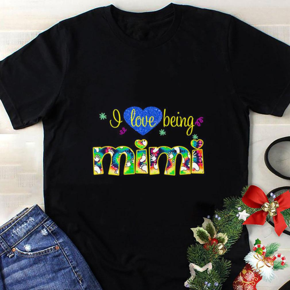 Heart I love being mimi shirt