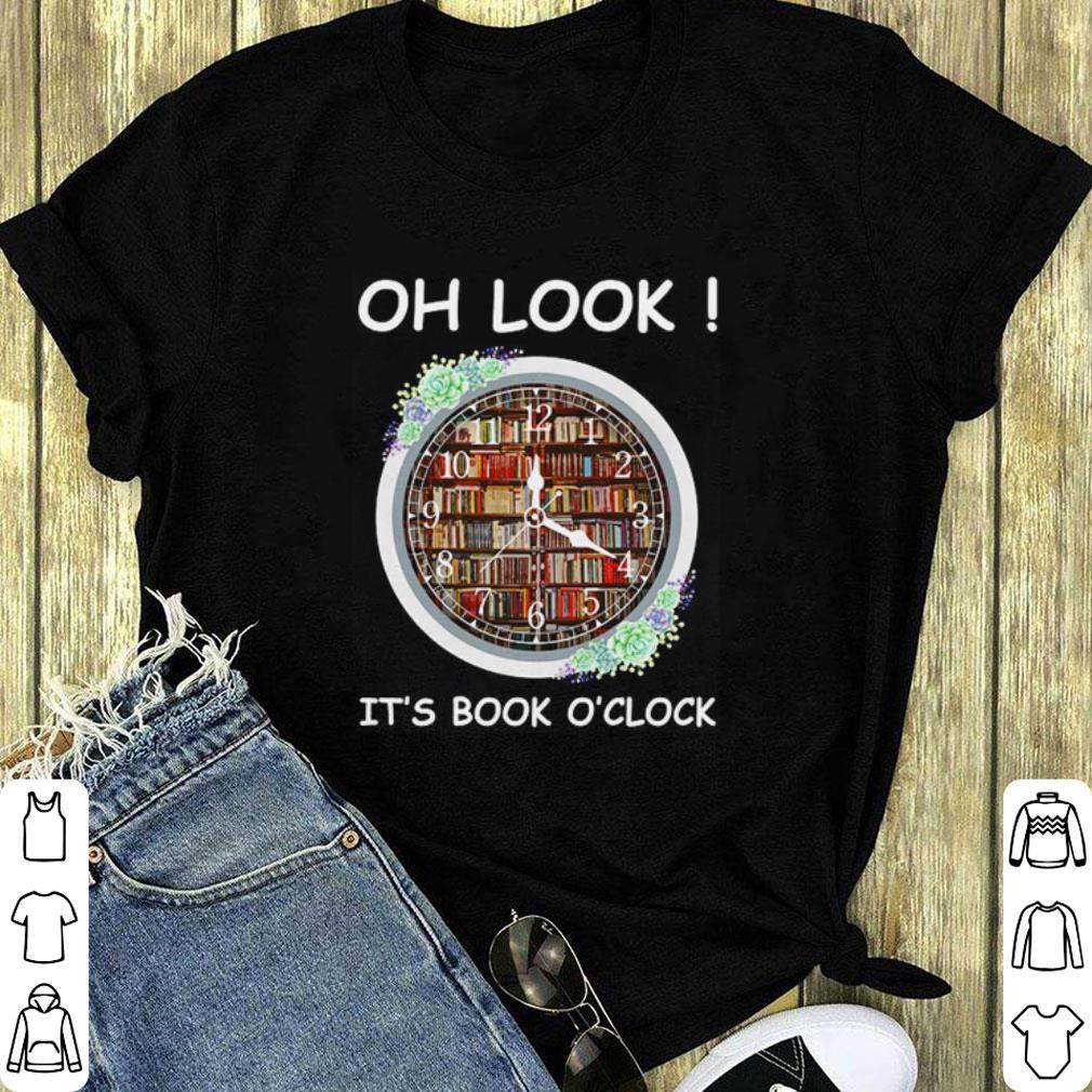 Oh look it's book o'clock shirt 1