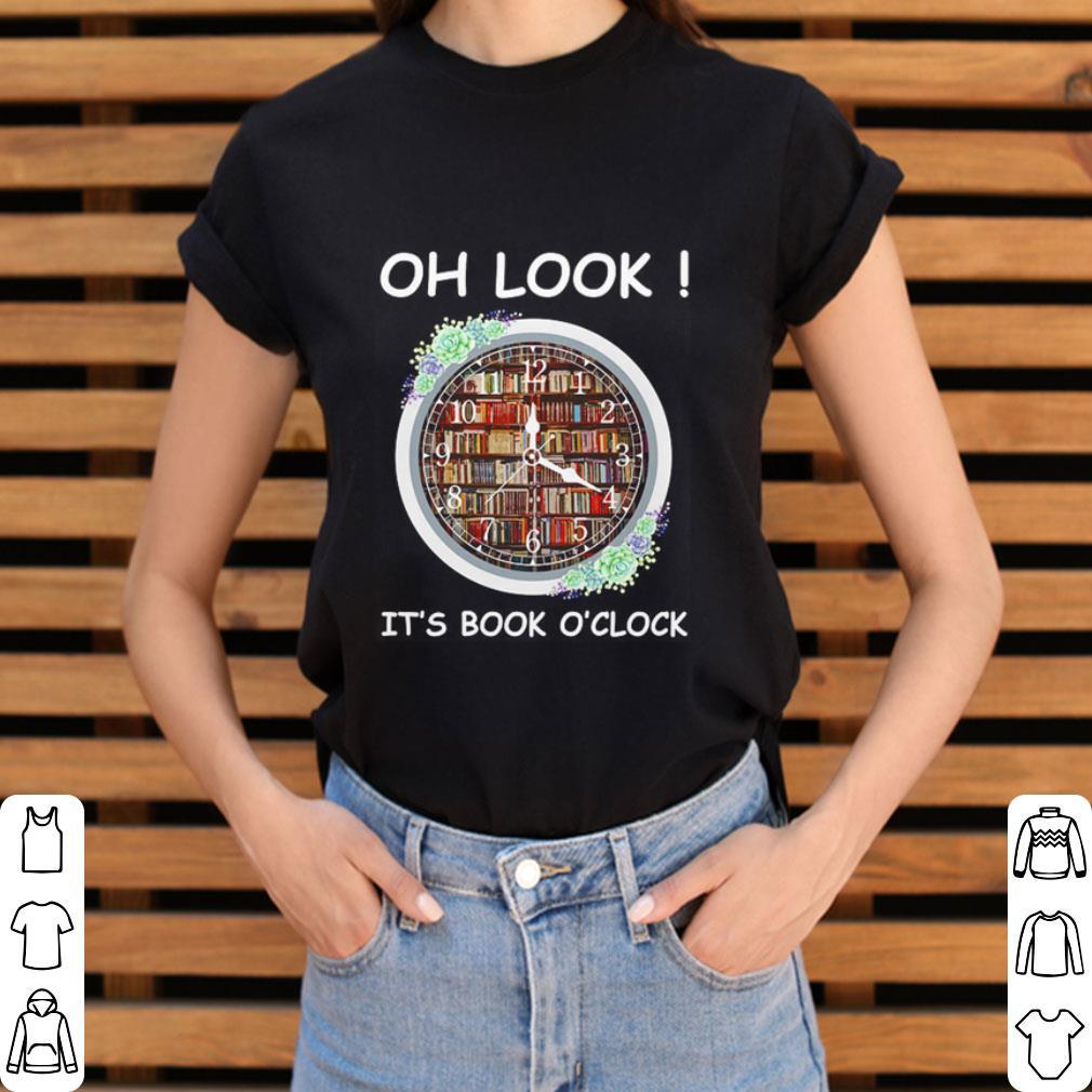 Oh look it's book o'clock shirt 3