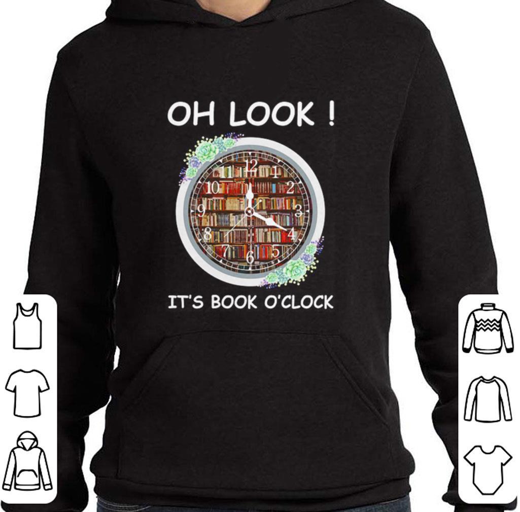 Oh look it's book o'clock shirt