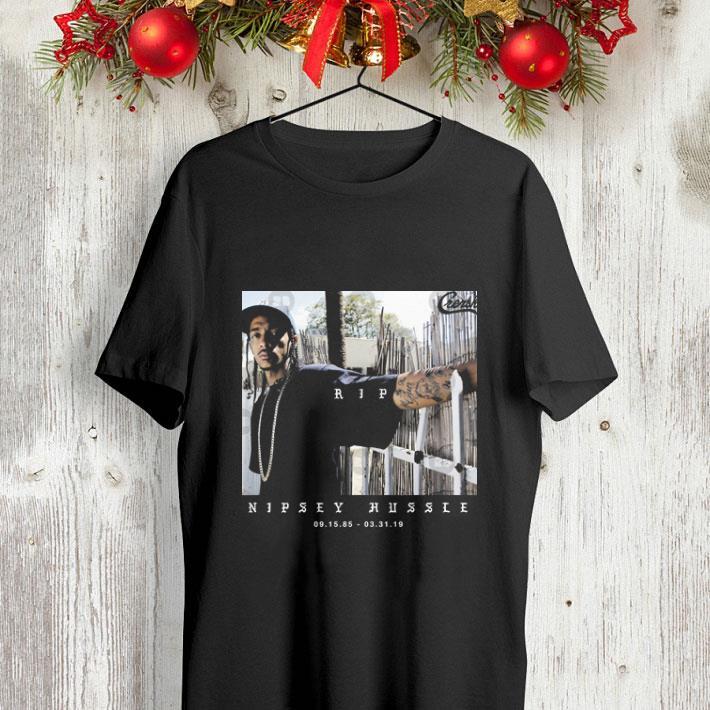 A legend rapper Nipsey Hussle Crenshaw RIP THA GREAT shirt