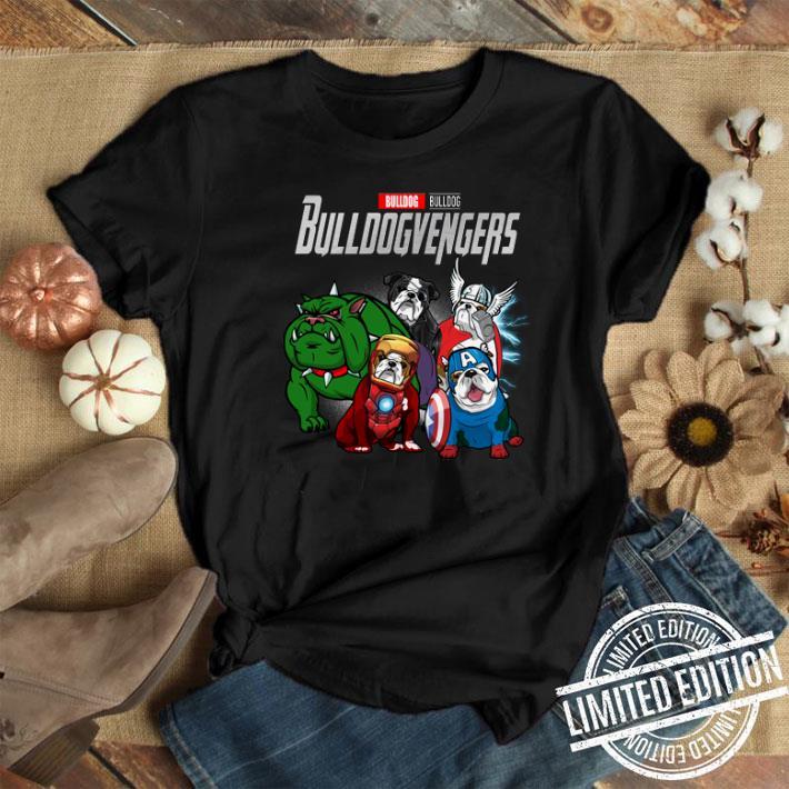 Bulldog Bulldogvenger Marvel Avengers Endgame shirt 1