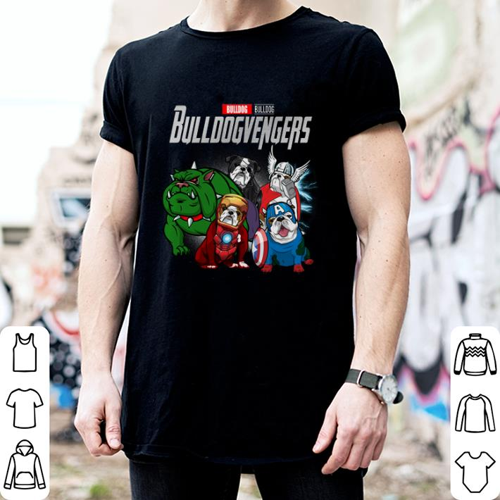 Bulldog Bulldogvenger Marvel Avengers Endgame shirt 2