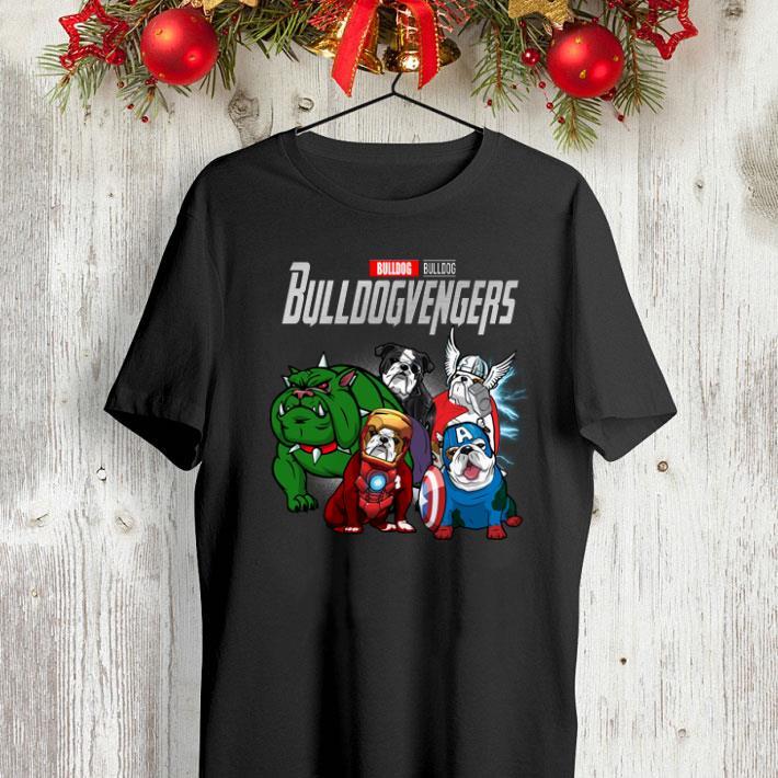 Bulldog Bulldogvenger Marvel Avengers Endgame shirt