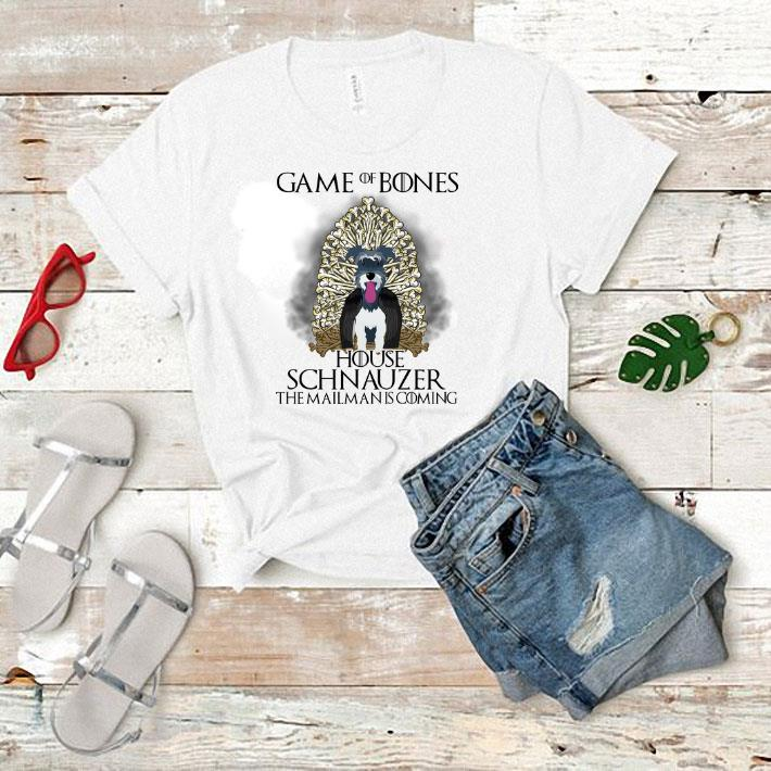 Game of bones house Schnauzer the mailman is coming Game of Thrones shirt