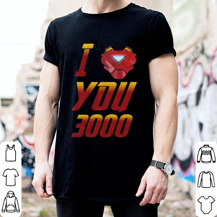 I Love You 3000 Avengers Endgame Iron Man Tony Stark shirt 2
