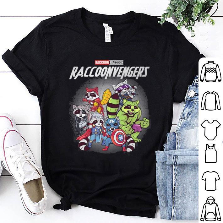 Raccoon Raccoonvengers Marvel Avengers Endgame shirt