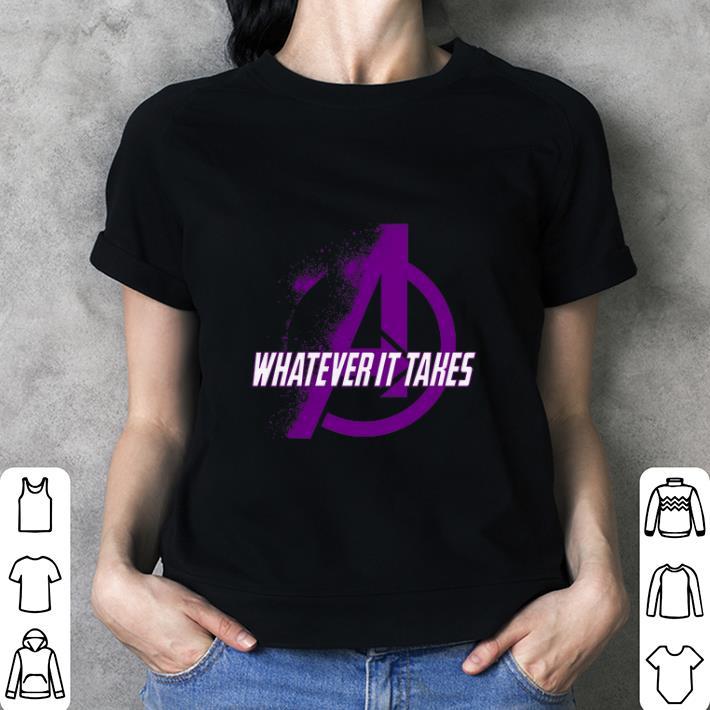 Whatever it takes Marvel Avengers Endgame shirt